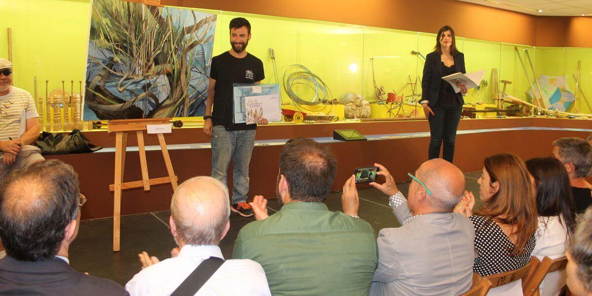 O Melga colabora co IV Concurso de Pintura rápida Fernando Álvarez de Sotomayor en Ponteceso