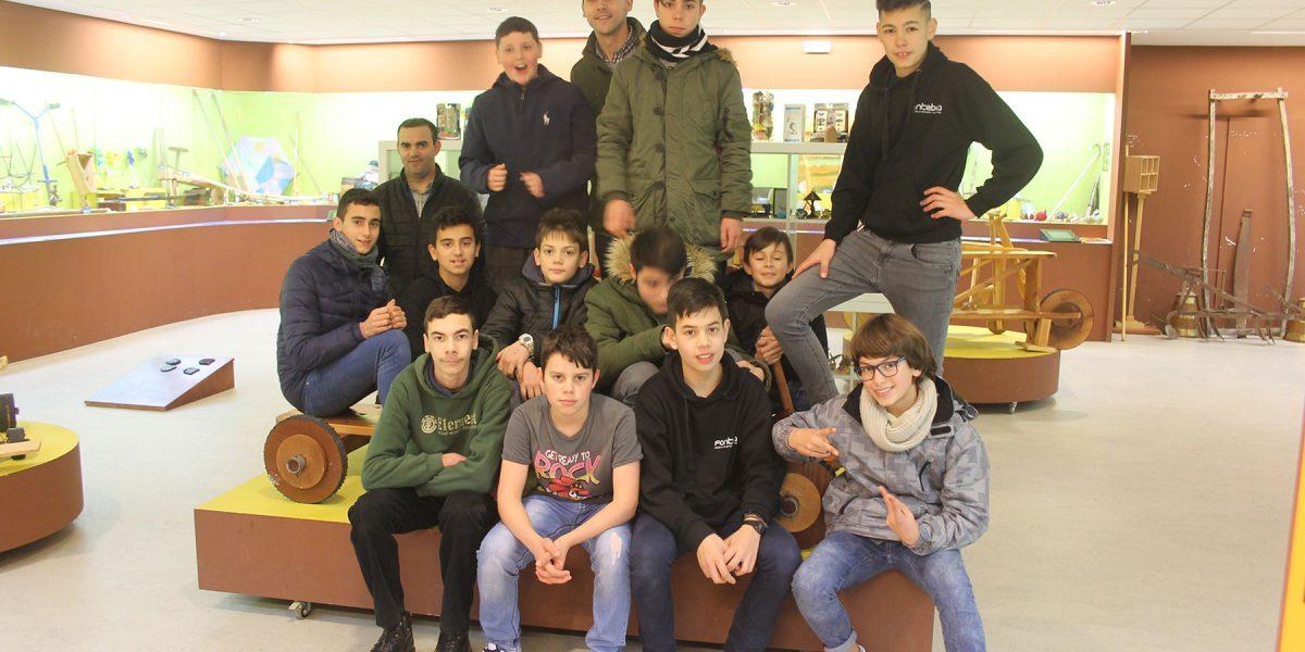 O colexio Fonteboa de Coristanco no Melga