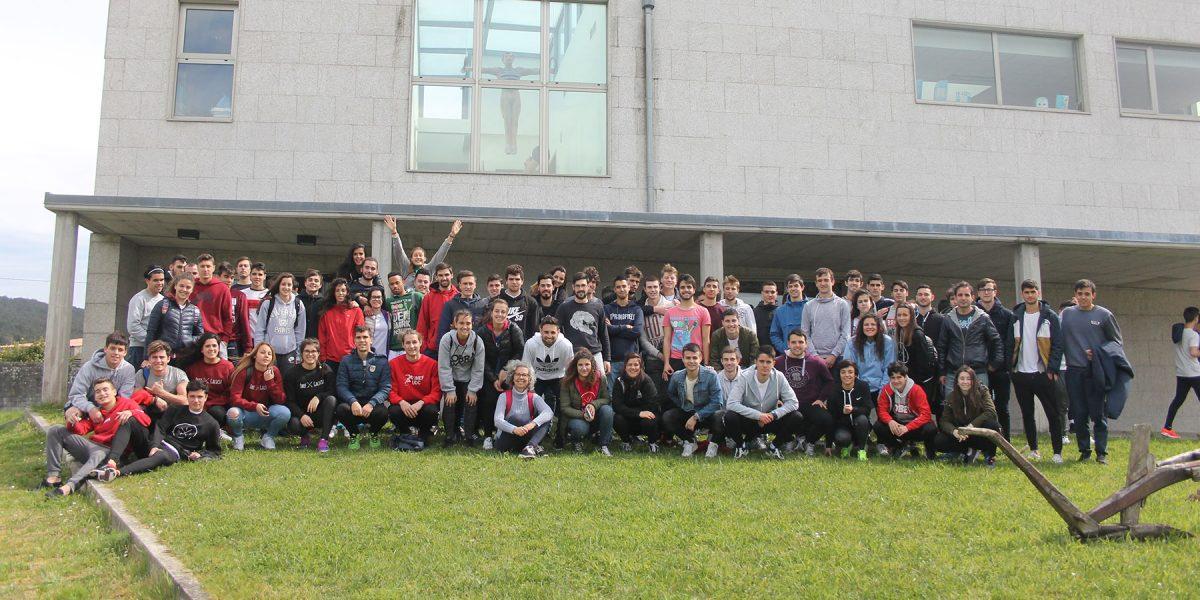 A Universidade da Coruña nos visita