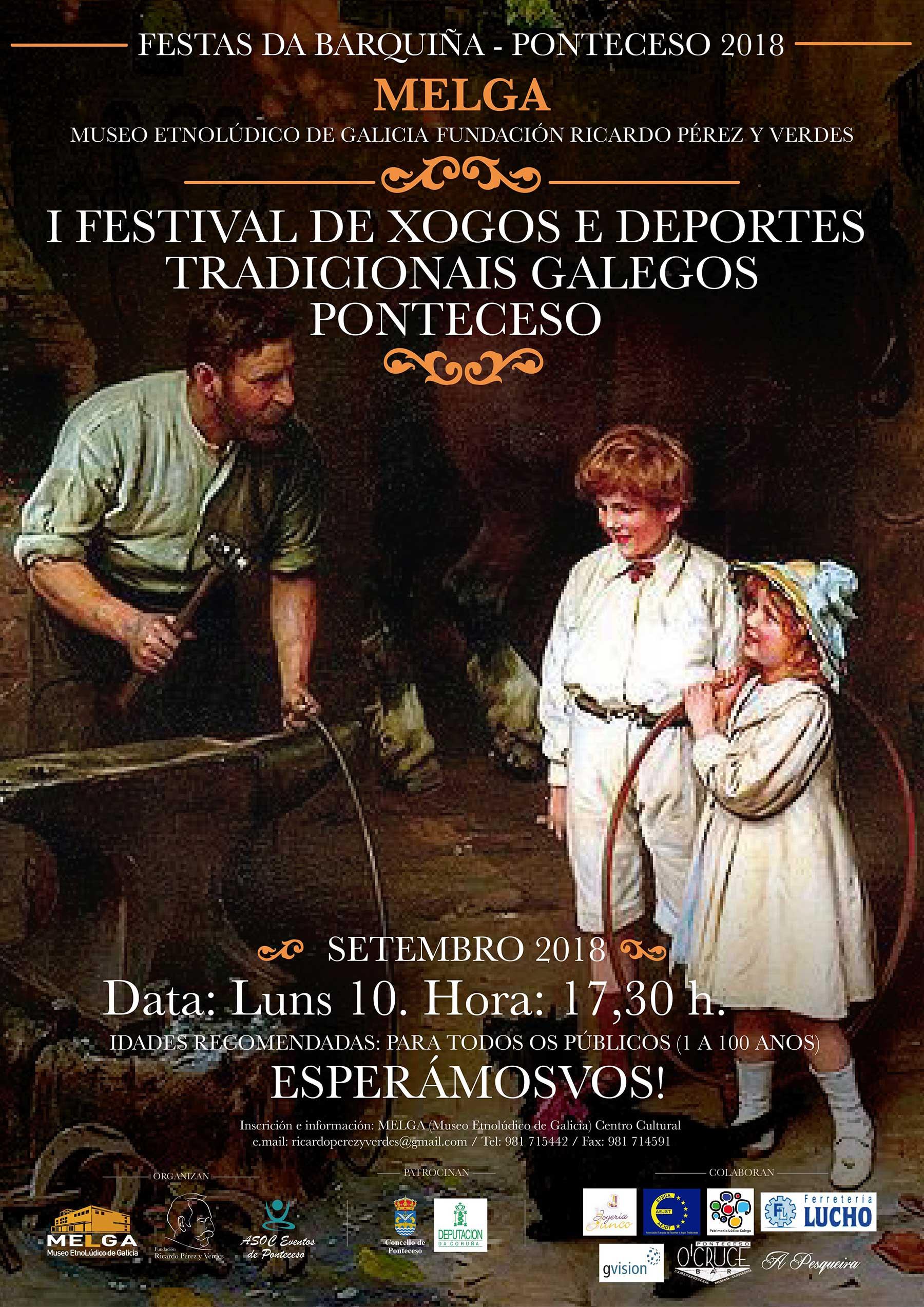 I Festival de Xogos e Deportes Tradicionáis Galegos en Ponteceso