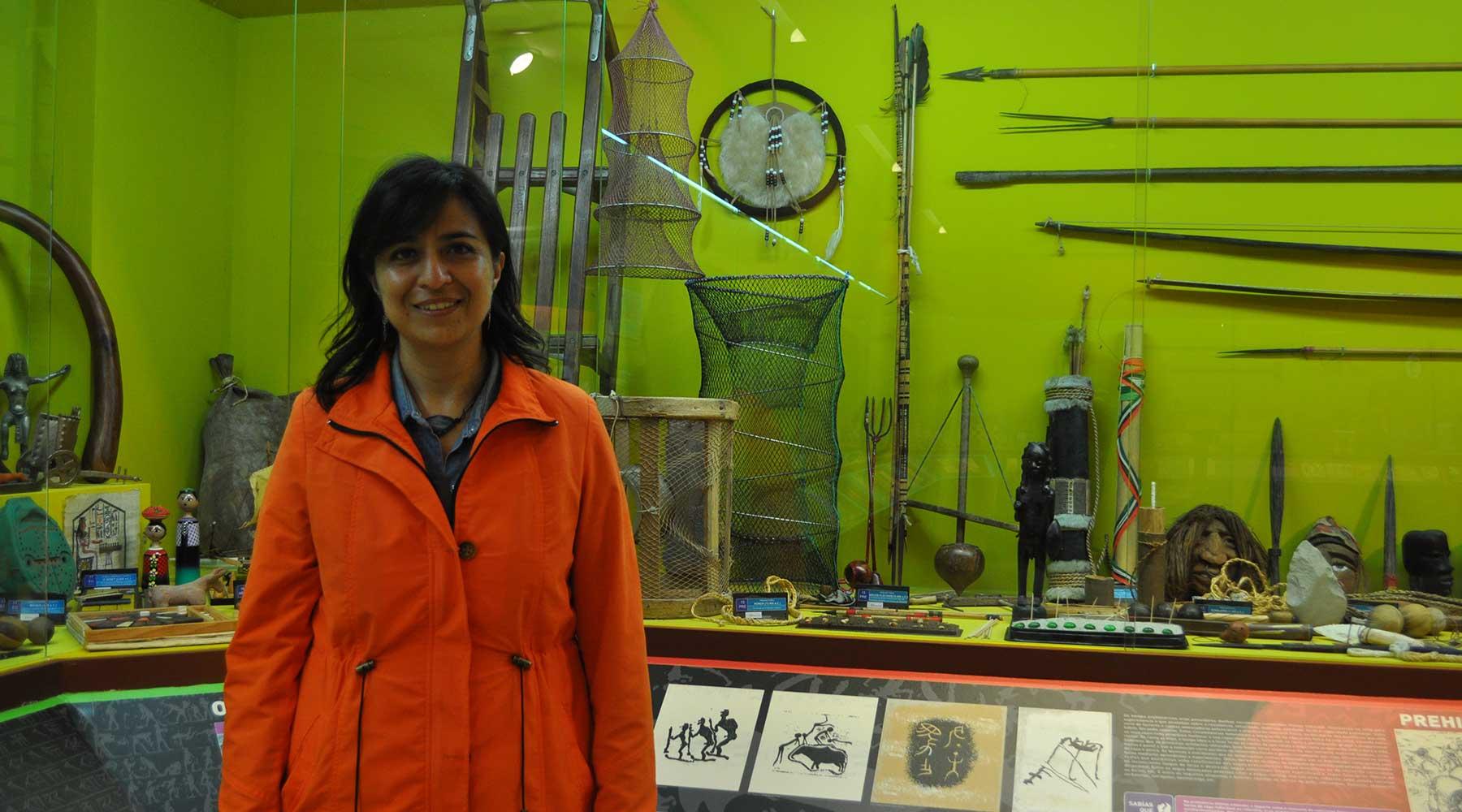 Irene Morales Pagaza en el Melga