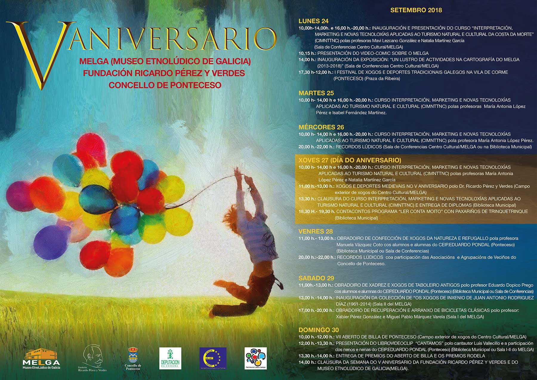V Aniversario del Museo y de la Fundación