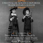 Festival de xogos e deportes tradicionais galegos no Melga