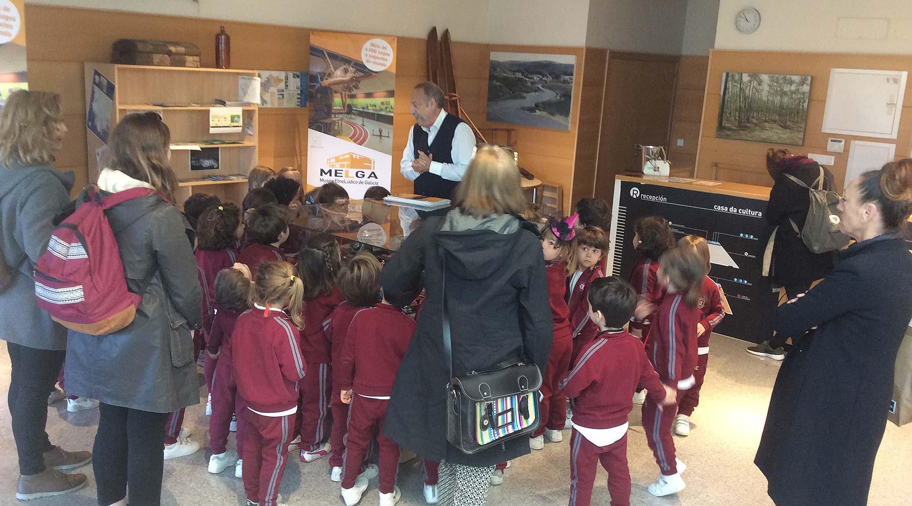 O British School regresa ao Melga na súa cita anual