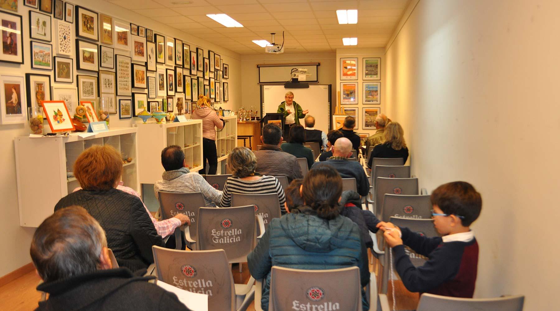 El historiador José Antonio Guiadás leyó su manifiesto del Día del Peón en el Melga