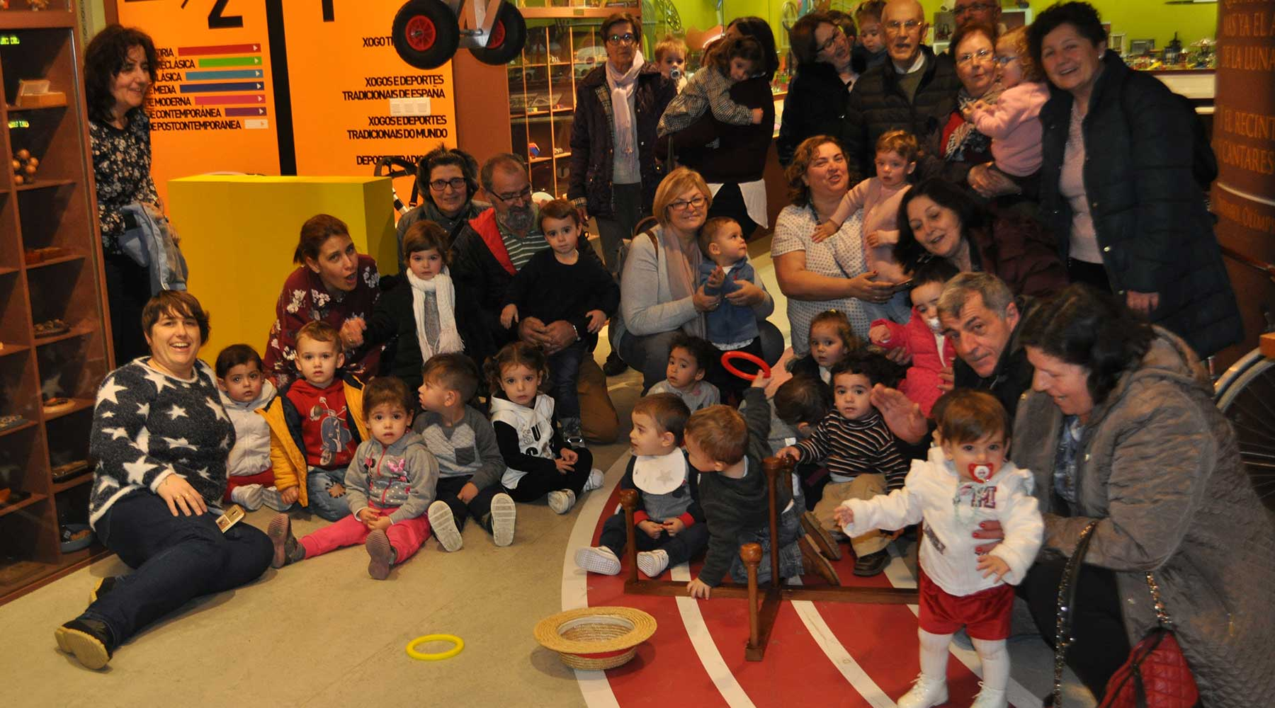 grupo O Berce Escuela Infantil los Gosendes de Arteixo