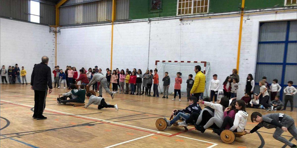 esión de xogos e deportes tradicionais na escola