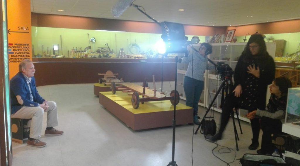 Grabación de un Documental  en el Melga