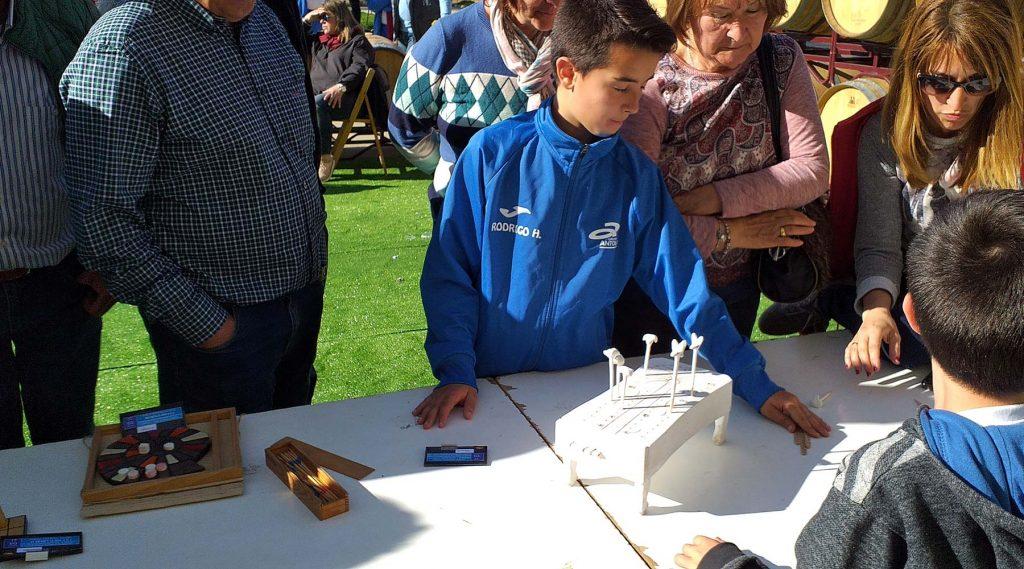Galicia presente no VI Encuentro Internacional de Xogos tradicionáis: Muller e Birlos en Aranda de Duero (Burgos) España