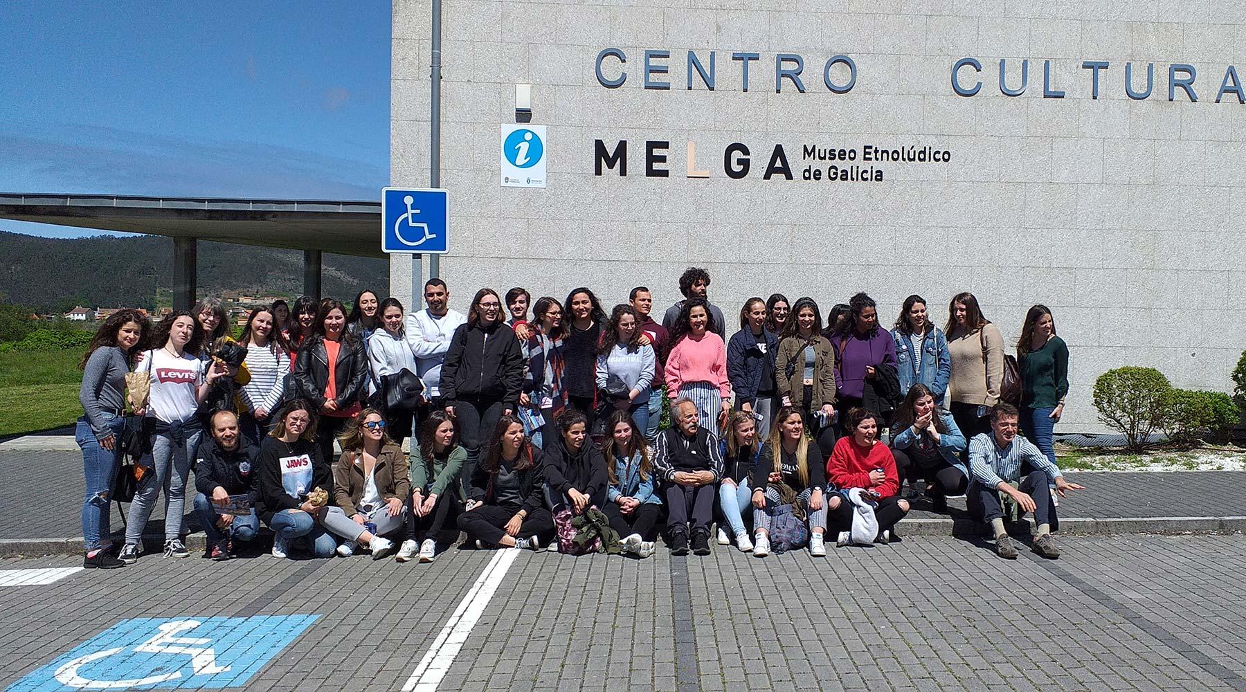 Outro ano máis no Melga de Ponteceso, a Facultade de Ciencias da Educación de Santiago de Compostela
