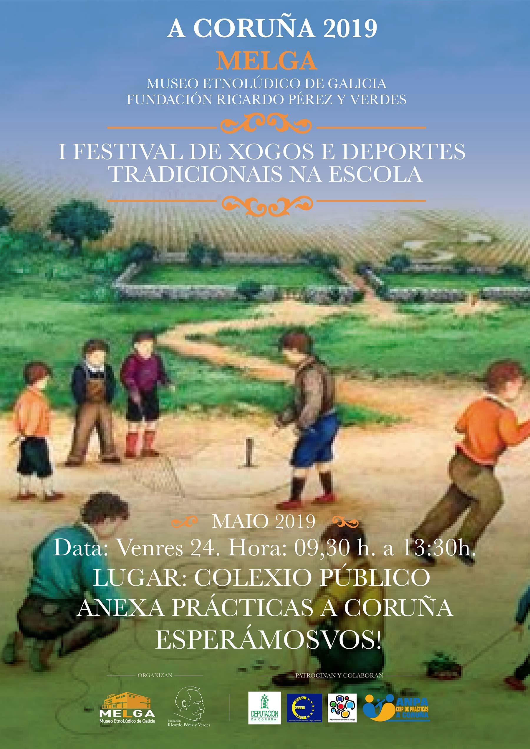 I Festival de Xogos e Deportes tradicionais na escola