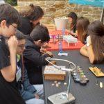 A xornada organizada polo Melga sobre xogos tradicionáis e ciencia asolagaron o Festiletras cunha grande aceptación