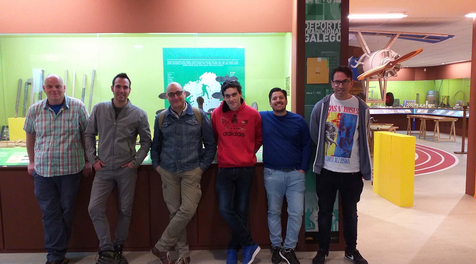 Membros do Concello de Santiago de Compostela interesanse polo Melga de Ponteceso