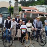 El Melga en ruta de biciclásicas de Pontedeume (A Coruña)