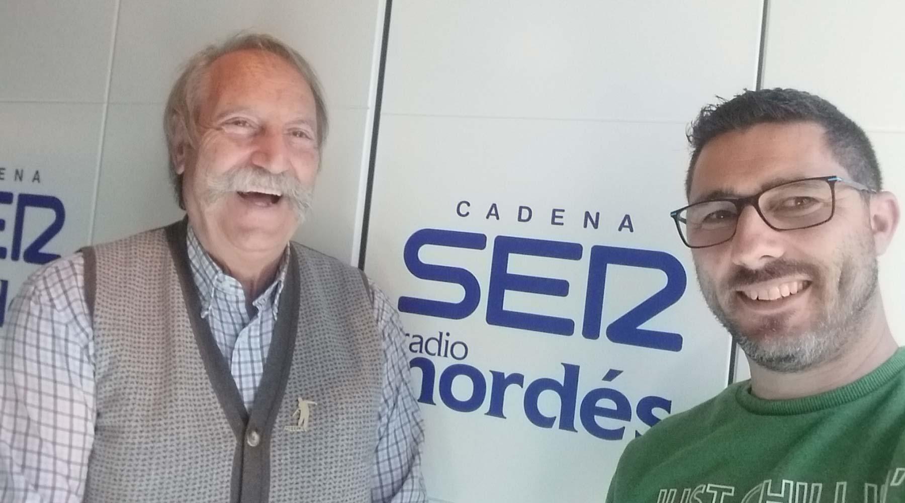 Un programa adicado ao Melga en Radio Nordés Cadena Ser
