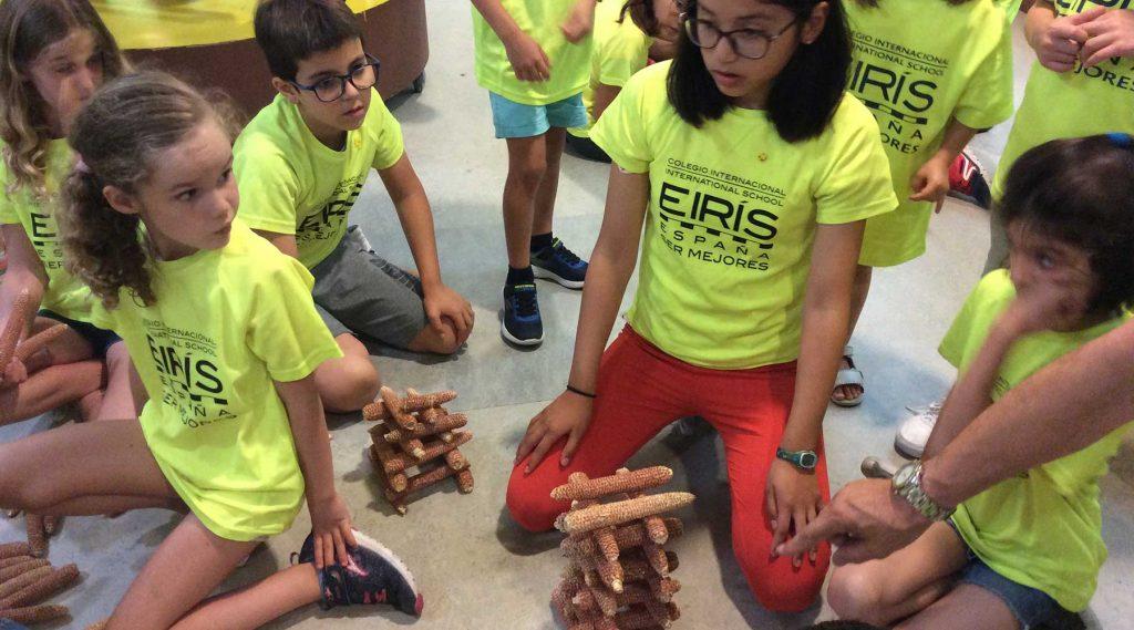 El colegio internacional Eiris nos visita por tercera vez en esta ocasión con motivo del un campus de verano anglo-español