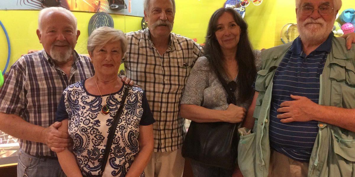 Ilustres museólogos llegan a Ponteceso para visitar el Melga