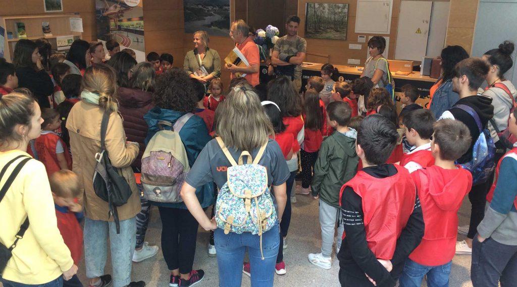 A rebosar el Melga con más de 200 visitantes en la jornada matinal