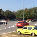 Masiva e veloz visita guiada ao Melga do Coruña Veteran Car e a Asociación de Amigos das Motos Clásicas