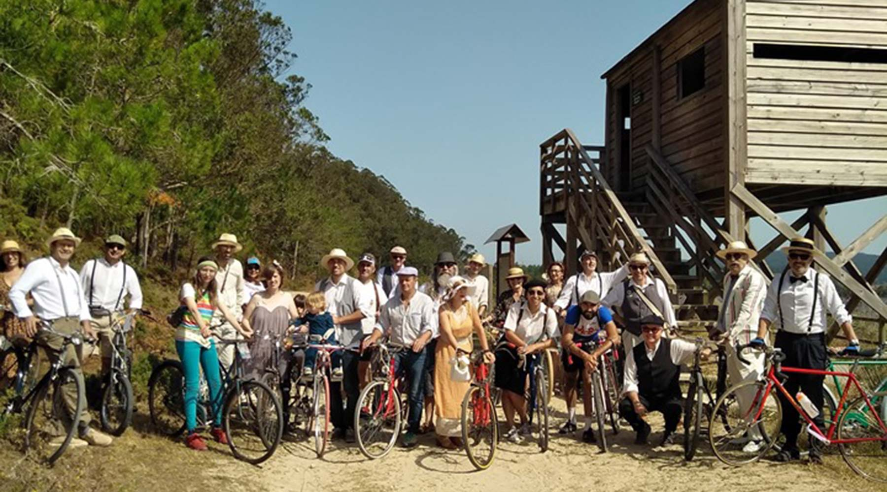 Afiánzase con éxito rotundo a VI Ruta de Biciclásicas de Ponteceso