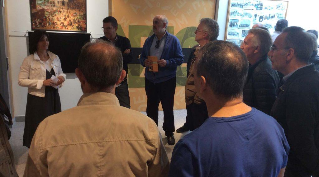 Un grupo de exalumnos dos Maristas de A Coruña visitaron o Melga de Ponteceso