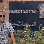 O Melga presente na Universidade de Marraquech (Marrocos)