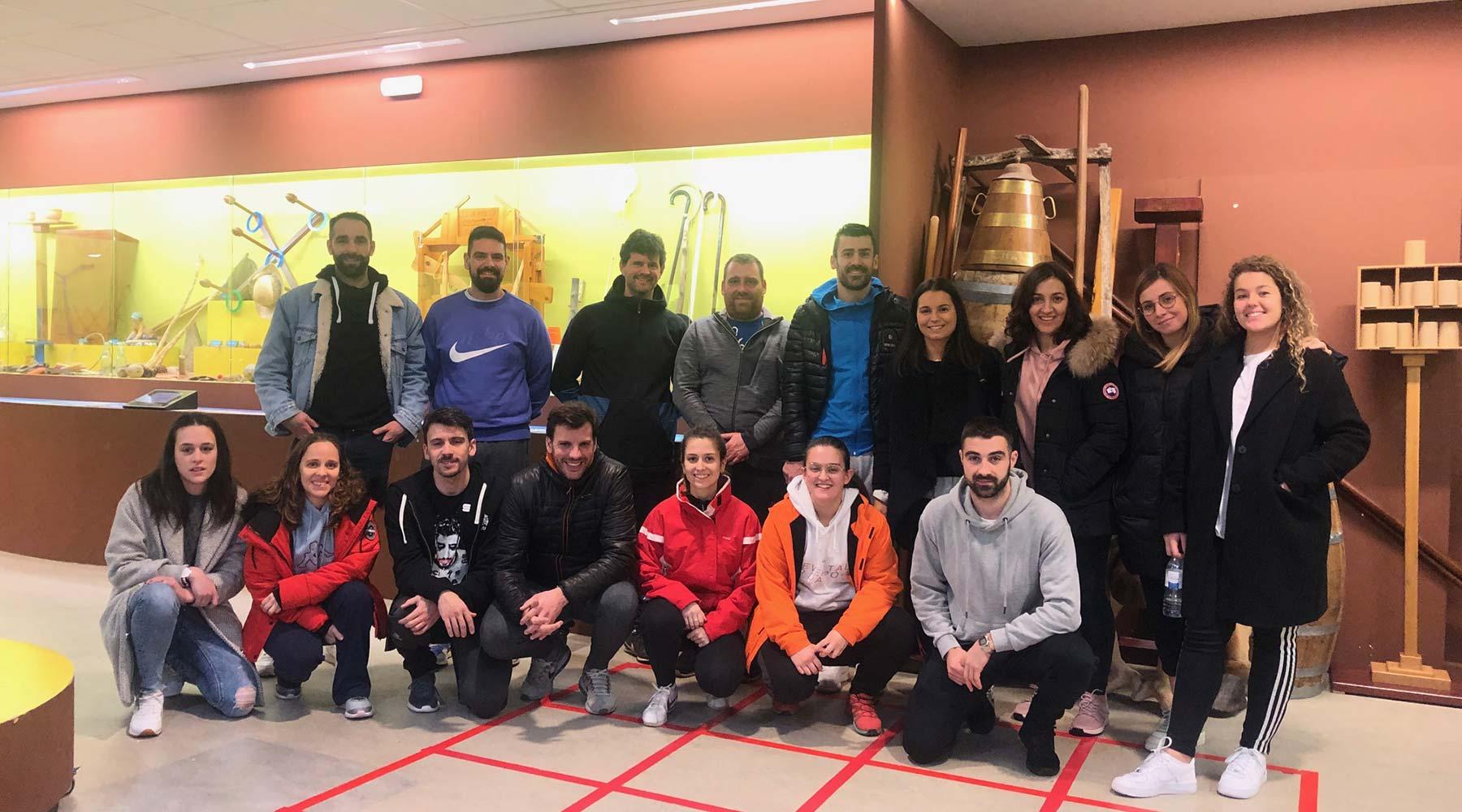Docentes da ciudade de Lugo chegan ao Melga de Ponteceso para visitarnos na súa terceira cita anual consecutiva