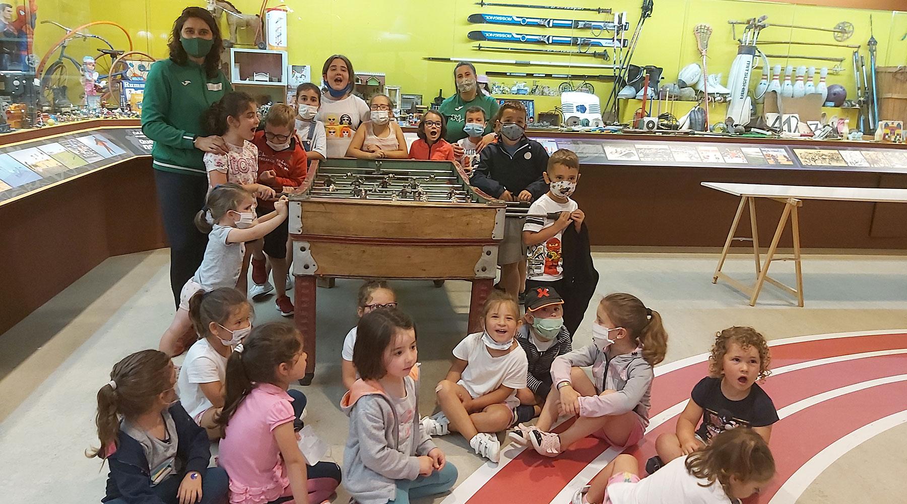 Visítanos un grupo do Campus Furancho Deportivo de Vimianzo