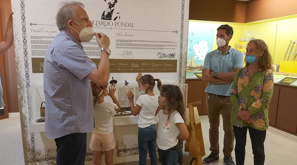 Visita da familia Álvarez Sotomayor