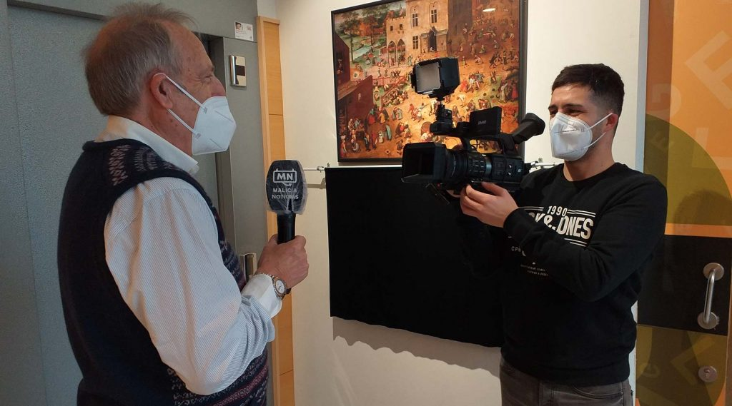 Nova reportaxe televisiva no Melga dun programa da gallega