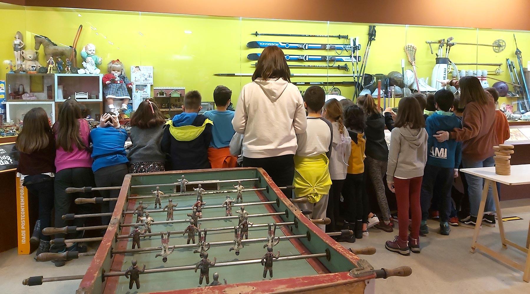 Outra visita máis ao Melga do Colexio Privado Andaina de A Coruña
