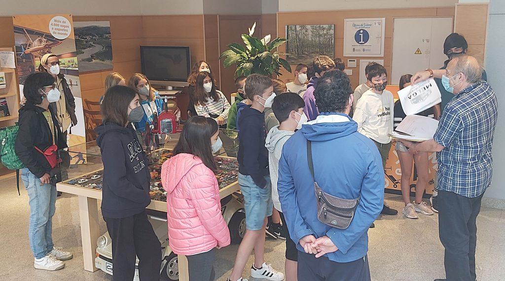 A Sociedade Cooperativa Galega Medioambiental CEM de Culleredo visita o Melga de Ponteceso