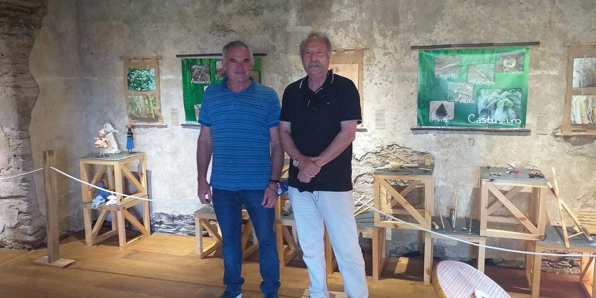O noso Director visita O Recuncho dos Entretementos en Lourenzá (Lugo)